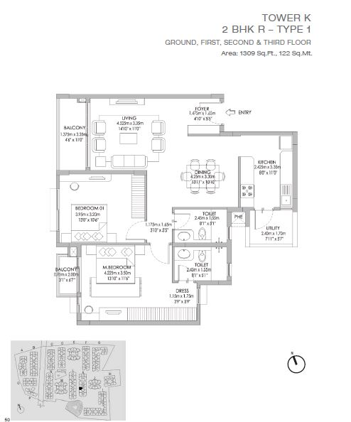 Godrej Eternity Floor Plan